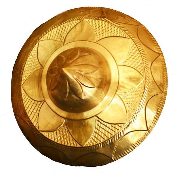Handicraft Brass Metal Wall Jaapi -16 Inch