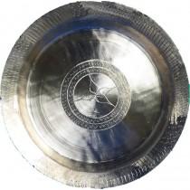 Handicraft Bell Metal Plate/Dish (Kahi)- 400 Gm