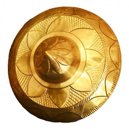 Handicraft Brass Metal Wall Jaapi -14 Inch